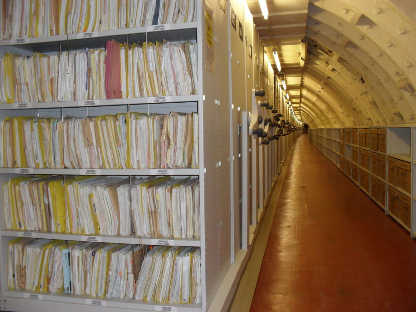 Archives, Records & Legal Storage