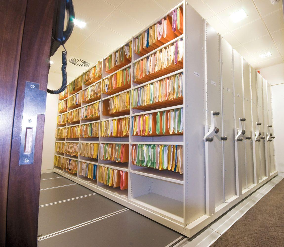 Archive Facility Storage