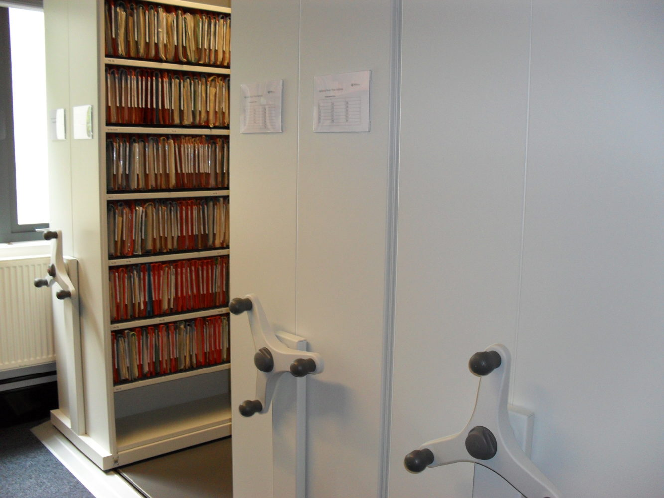 Lateral File Storage Shelving