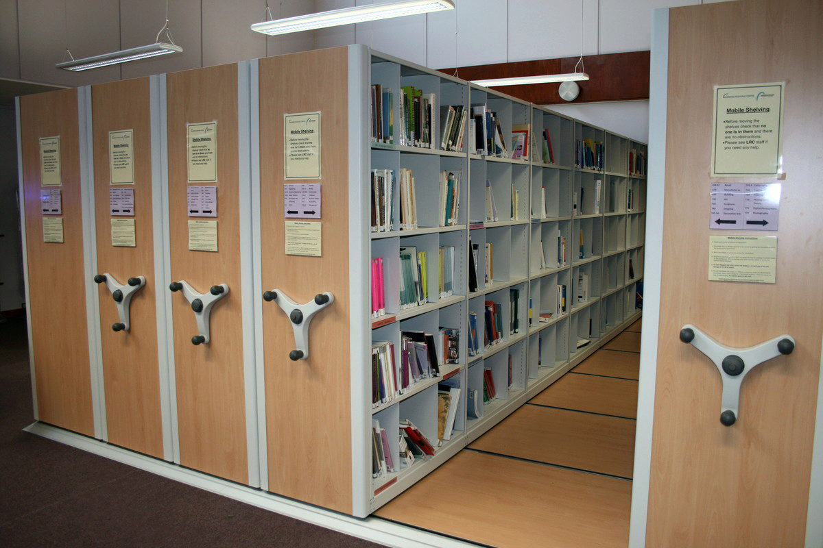 Contact us for Library Book Storage advise regarding your library's fit-out needs with us