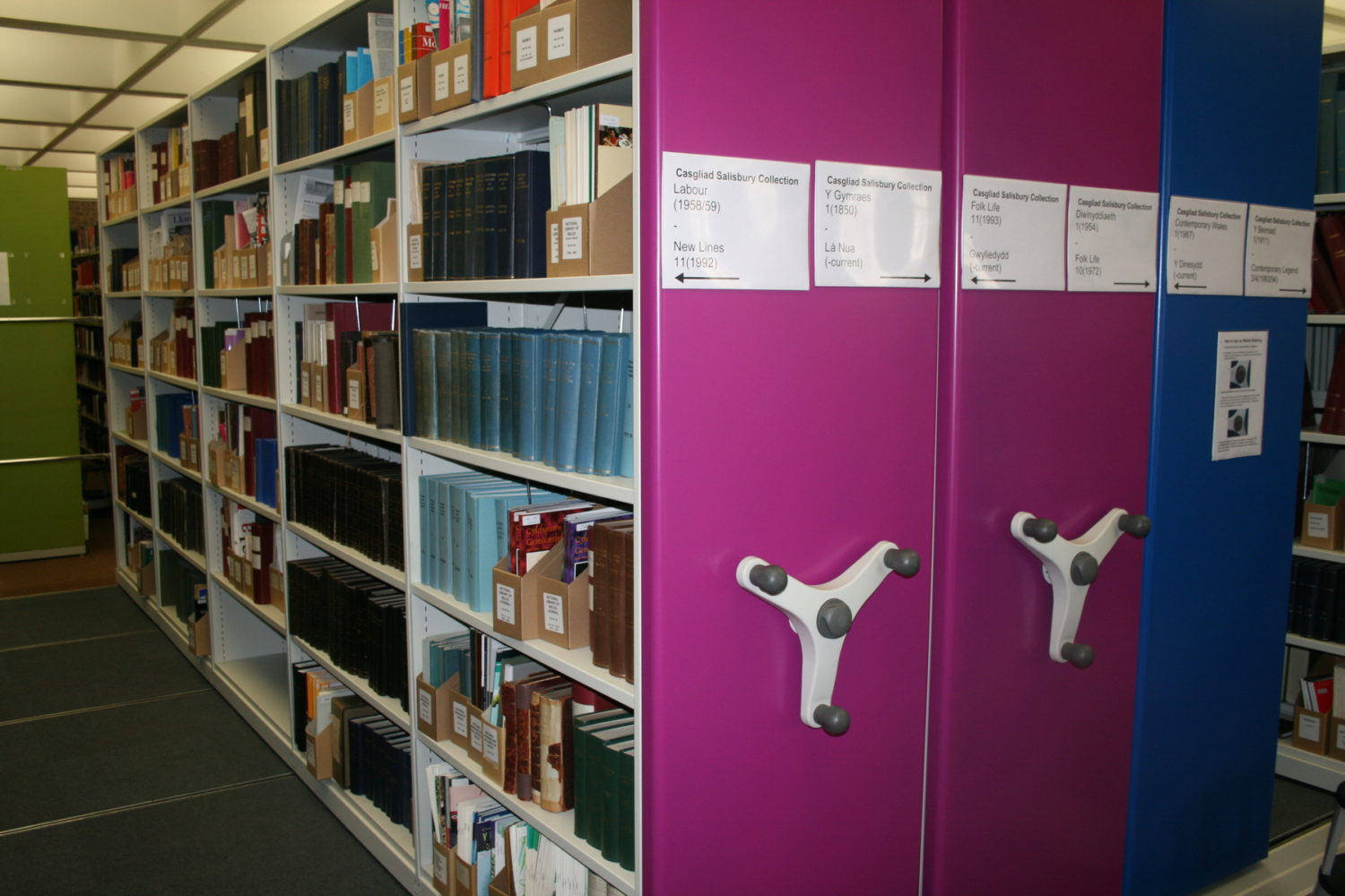 We produce a library space plan to determine the most effective storage solution for your library