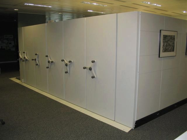 Secure storage of the confidential documents