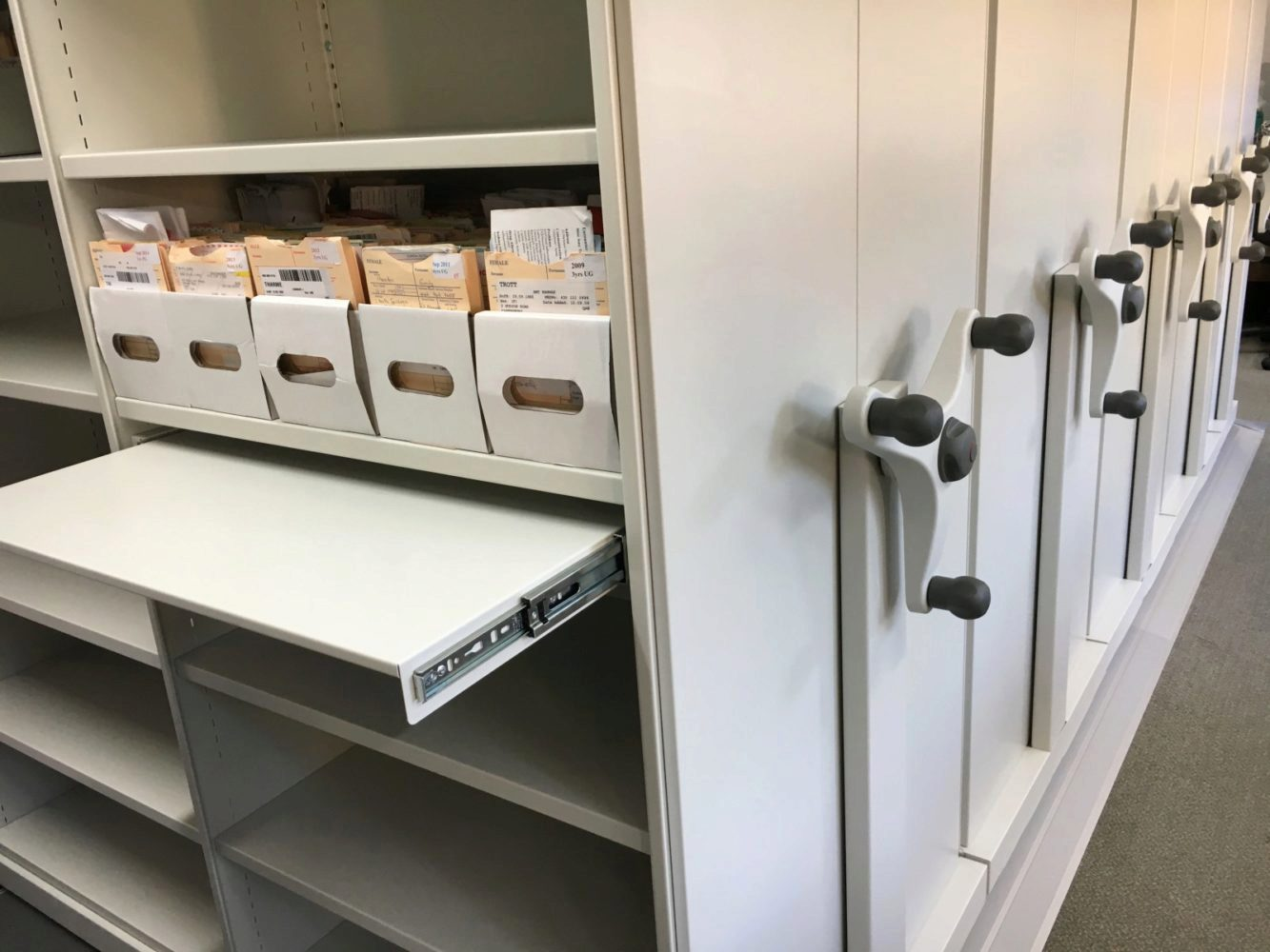 Contact Invicta Mobile Shelving today to speak to one of our specialists about your storage requirements.