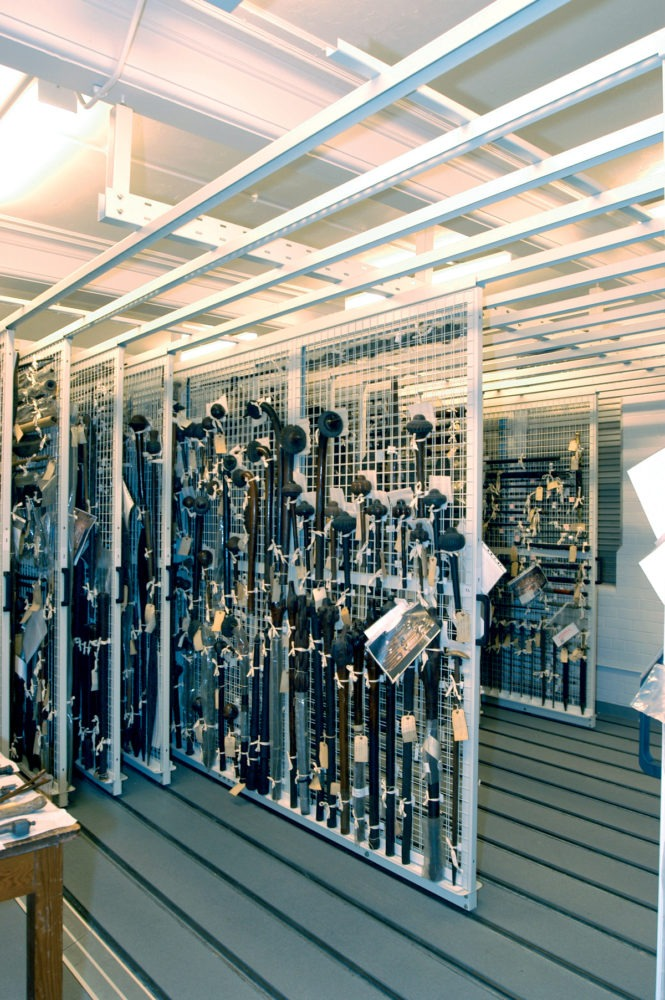Art collection storage configurations