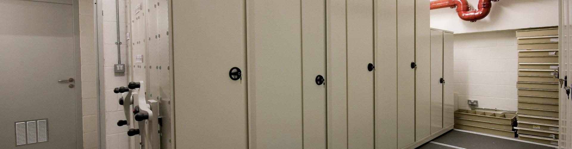 Secure Label Storage